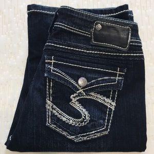 Silver Jeans 28x33